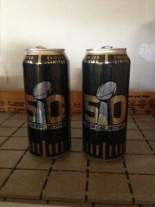 24 CANS OF BUD LIGHT FROM SUPERBOWL 50