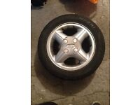 Ford Fiesta MK4 Alloy wheels Breaking