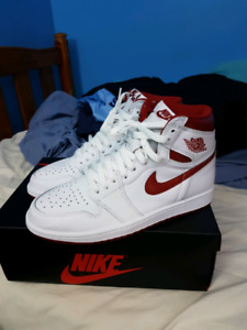 Red Metallic 1s size 8 PADS