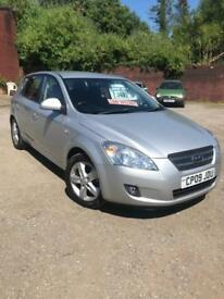 2009 Kia ceed 1.4 SR-7+ lovely condition + 47k+ 6 stamps