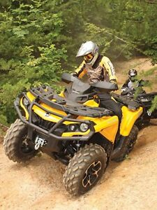 Looking for a can am outlander atv