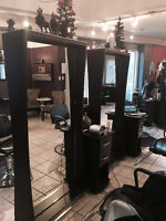 Chair Available for rent in uptown Salon