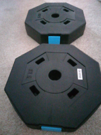 5kg weight plates pair 10kg total
