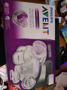 Avent double electric pump