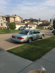 1996 Crown Victoria for sale; great condition but ...