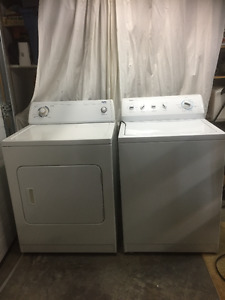 Newer Washer and Dryer