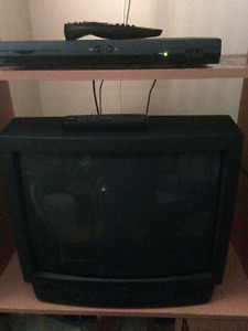 tv and receiver