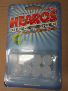 Moldable Clear Ear Plugs Noise Reduction Music Motorcycle swim Kitchener / Waterloo Kitchener Area image 4