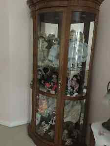 Antique viewing Cabinet North Shore Greater Vancouver Area image 3