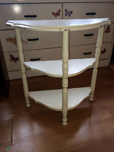 Antique Vintage Retro Side End Table for hall or room 24x24x12