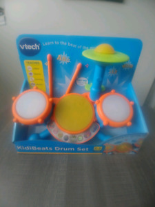 New Vtech Kids Drum Set