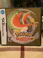 Pokemon HeartGold - Nintendo DS - Complete - No Pokewalker