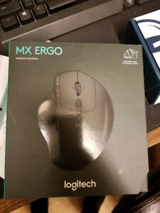 Logitech MX Ergo Wireless Mouse