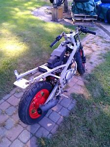YAMAHA YSR50 FOR PARTS PARTING IT OUT OR SELL IT AS IS Windsor Region Ontario image 4