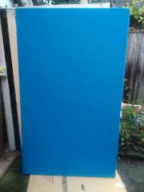Large felt notice display board