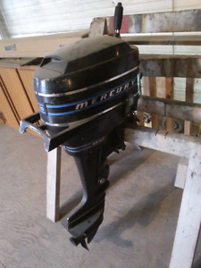 Mercury 9.9 h.p outboard