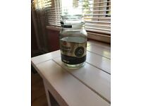 24 air tight glass coffee jars