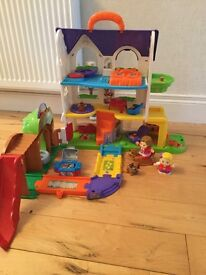 V-Tech toot toot Friends Busy Sounds Discovery House... Toy like new!!