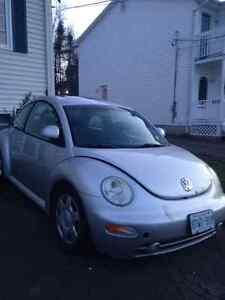 1999 Volkswagen Beetle Silver Coupe (2 door)