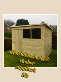 12x8 garden shed