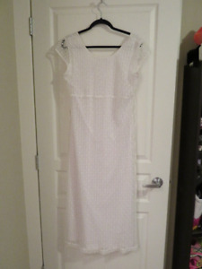 White Summer dress Size 13