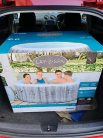 Lay z spa fiji 4 person hot tub with freeze shield