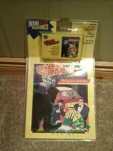 Dick Tracy Audio Action Adventures casette and book UNOPENED
