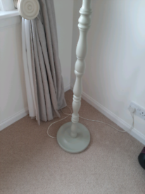 Beautiful vintage lamp 186 cms in height .l