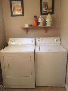 Stove,washer dryer.