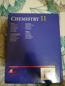 Nice quality chamistry book 11 grade by nelson