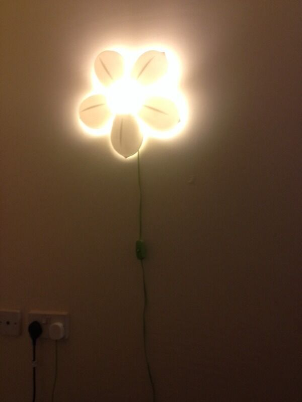 Flower Lights Ikea Ikea White Wall Flower Light
