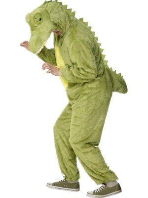 Erwachsene Krokodil Kroko Alligator Maskenkostüm 91.4-102cm By Smiffys - Alligator Kostüm