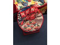 Disney cars lightening McQueen moon folding chair