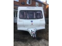 Bailey Pagent Majestic 2 berth Caravan ready to camp motor mover & awning