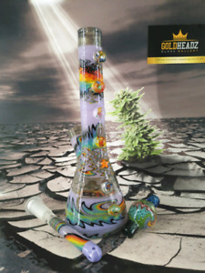 ONE OF A KIND BONGS, DAB RIGS,CARB CAPS, GLASS JEWELRY, AND MORE
