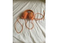 Orange Headset