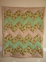 New Hand Quilted PATCHWORK Baby Quilts (Blankets)