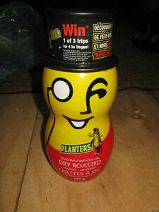 Mr. Peanut bottle