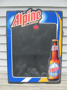 Alpine,Bud Light,Moosehead  chalk board signs $58 each
