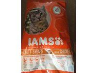 Iams dry cat food