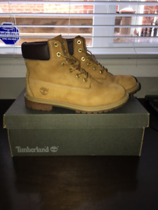 Youth Boys Timberland Boots - Size 7 Waterproof & Authentic