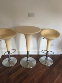 Bombo stools and table by magis