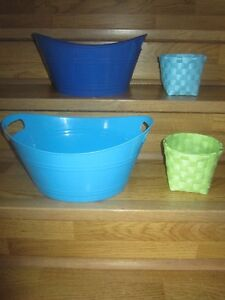 STORAGE BINS - $3.00 for LOT