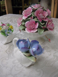 China Flowers -- FROM PAST TIMES Antiques & Coll - 1178 Albert Regina Regina Area image 3
