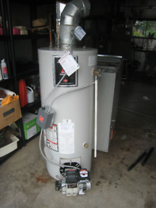 Hot water heater - oil