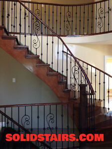 solid oak stairs custom installation for you from $998.00