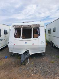 2 berth caravan with motormover