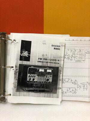 Ifr Fmam-1200sa Communications Service Monitor Service Manual