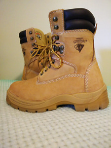 Size 8 steel toed boots