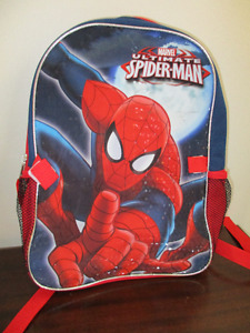 New with Tags Spider Man Backpack